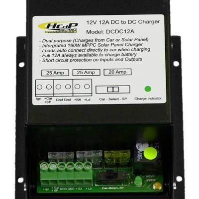 DCDC 12Amp 12V Charger