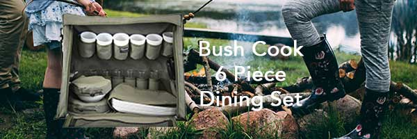 Canopy Storage 6 Piece Dining Set - The Bush Company