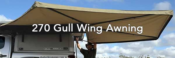 270 Gull Wing Awning - The Bush Company