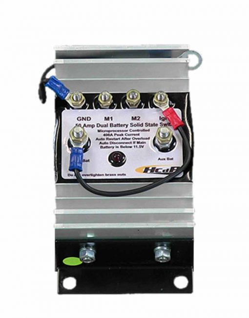 Dual Battery Solid State Switch front