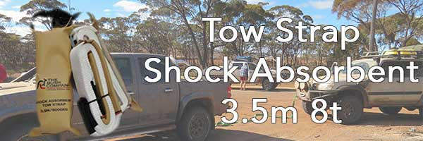 Tow Strap Shock Absorbent 3.5m