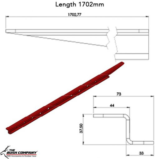 Z-Rail Line Drawing