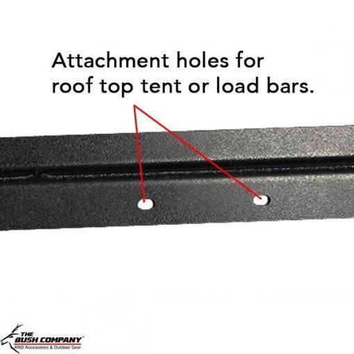 Z-Rails - RTT attachment holes