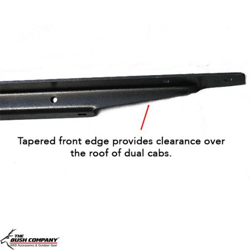 Z-Rails - tapered front edges