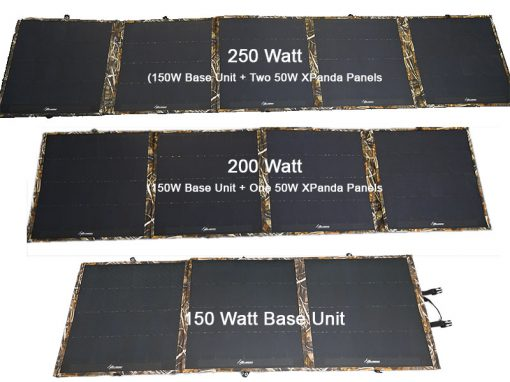 Sahara XPanda Panel 150W to 250W Image