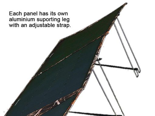 Sahara XPanda Panel Support Legs Attached