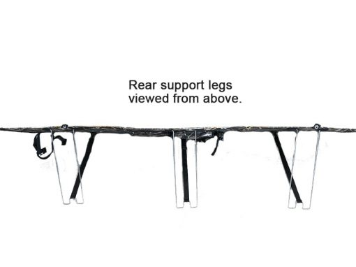 Sahara XPanda Panel Support Legs Attached Viewed From Above