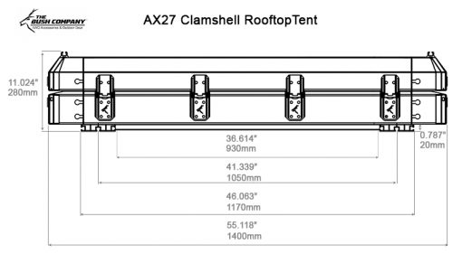 ALPHA Tent Based Dimensions