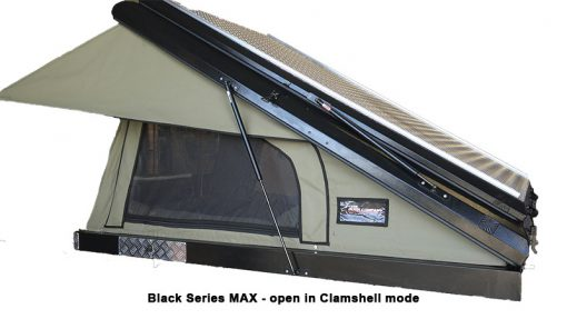 BLACK SERIES MAX - COpen in Clamshell Mode