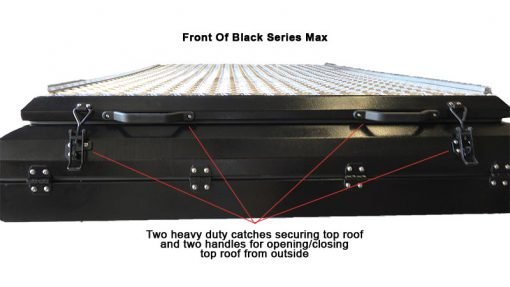 Blac Series MAX - Front view closed