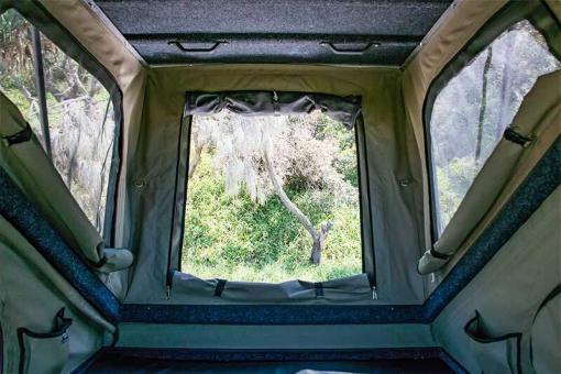 Black Series MAX - inside view looking froward bush