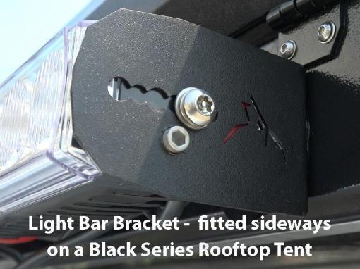 Light Bar Bracket - install on a Black Series Tent