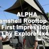 ALPHA - Clamshell Roof Top Tent - Explore 4x4 Install
