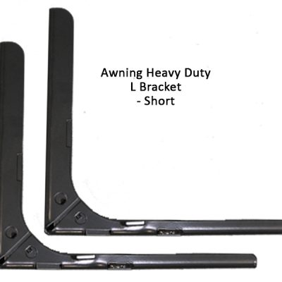 Awning Have Duty L Bracket - Short - pair