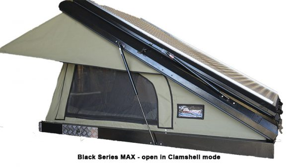 BLACK SERIES MAX - Open in Clamshell Mode
