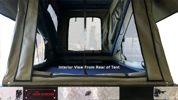 Blac Series MAX - Interior view from rear of tent