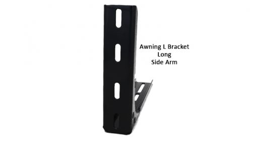 Awning Heavy Duty L Bracket - Long - front awning edge