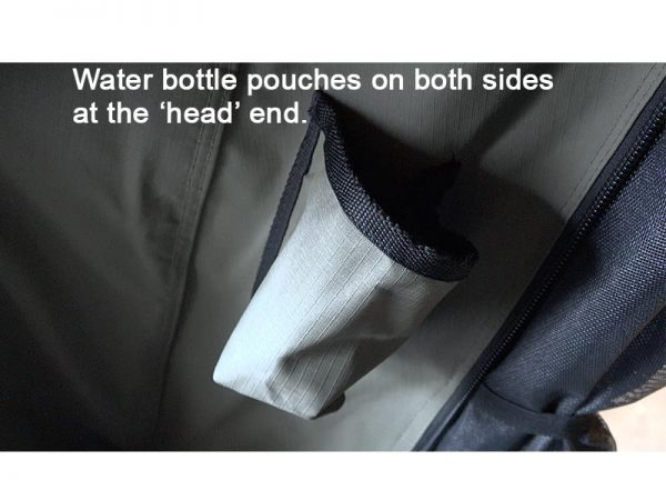 ALPHA Clamshell Rooftop Tent Water bottle pouch