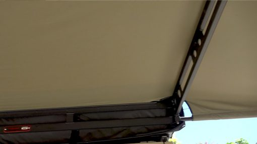 180 XT MAX Awning trussed arms from below